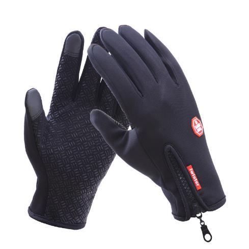 バイク グローブ 自転車 手袋 メンズ 防水 防寒 防風 スマホ スマートフォン タッチパネル対応 裏フリース てぶくろ