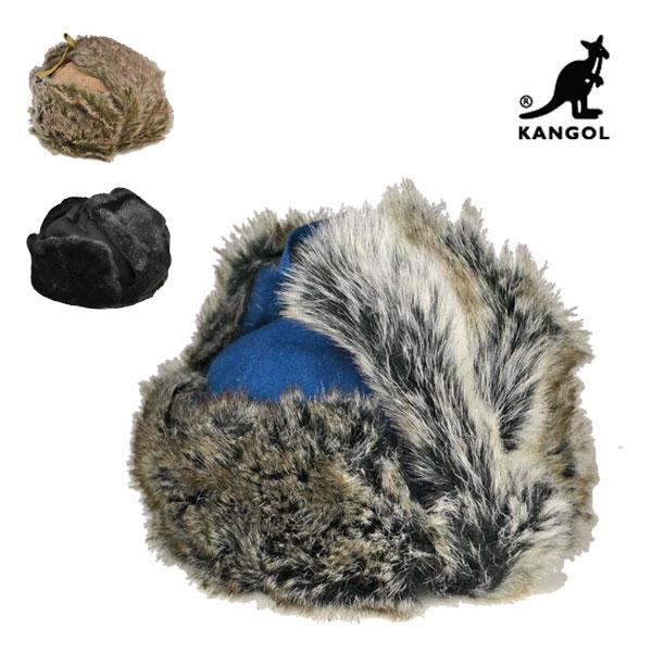 カンゴール・ウールウシャンカ/KANGOL 【帽子】耳当て付き 防寒 ロシア帽 メンズ レディース 大きいサイズ あったかい【楽ギフ_包装】【送料無料】【smtb-k】【kb】