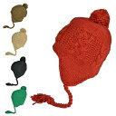 ニット帽 耳あて付 メンズ レディース ボンボン 帽子 スナグリーワッチ 秋冬 耳あて付きニット帽 ジュニア 耳当て 【…