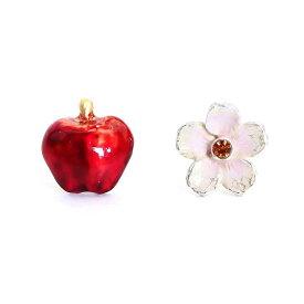 花りんご ピアス:Palnart Poc(パルナートポック)
