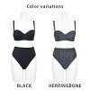 It is gown bra cup 2019 black black M L LIPCROWN original mail order import bikini import swimsuit adult on the swimsuit figure cover bikini bustier bandeau high waist Lady's swimsuit