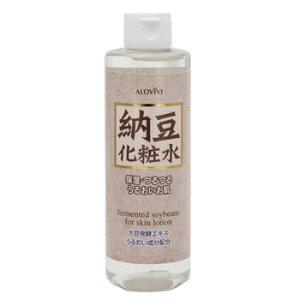 [アロヴィヴィ 納豆化粧水][250mL](AJD 納豆化粧水 250ml アロヴィヴィ ALOVIVI 納豆 化粧水 スキンケア・ローション アロヴィヴィ 化粧水 保湿化粧水) プレゼント用