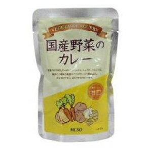 ムソー 国産野菜のカレー 甘口 200g 40個セット