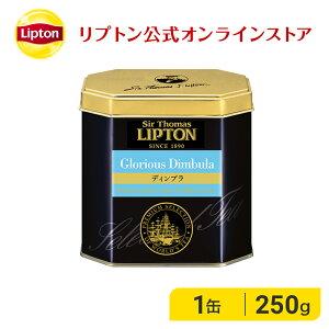 紅茶 茶葉 リプトン 公式 無糖 サー・トーマス・リプトン ディンブラ 250g リプトン 紅茶 ギフト おしゃれ リーフティー Lipton LIPTON