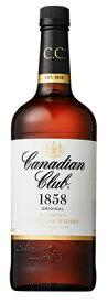 【送料無料】サントリー カナディアンクラブ リッターボトル 40度 1000ml 1L×6本/1ケース【北海道・沖縄県・東北・四国・九州地方は必ず送料が掛かります】