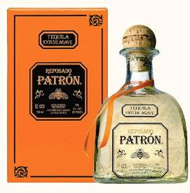 【並行輸入品】パトロン・レポサド テキーラ 40度 750ml 1本【ご注文は12本まで同梱可能】