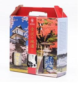日本酒 石川県 福光屋金沢の地酒 300ml×3本セット BOX【1セット】【ご注文は6セットまで1個口配送可能】