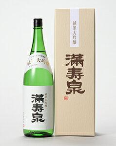 【富山の地酒】満寿泉 純米大吟醸 1800ml(1.8L)1本【ご注文は1ケース(6本)まで1個口配送可能です。】