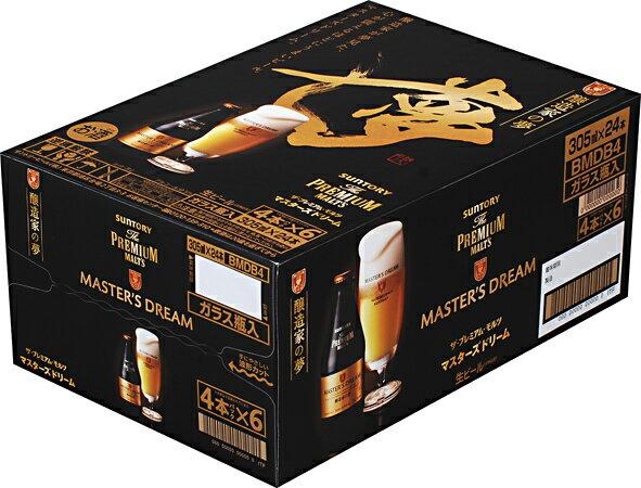【送料無料】サントリー ザ・プレミアムモルツ マスターズドリーム305ml瓶×24本【包装・熨斗・ご贈答用対応致します】【北海道・沖縄県は対象外となります。】【premiumstp03】