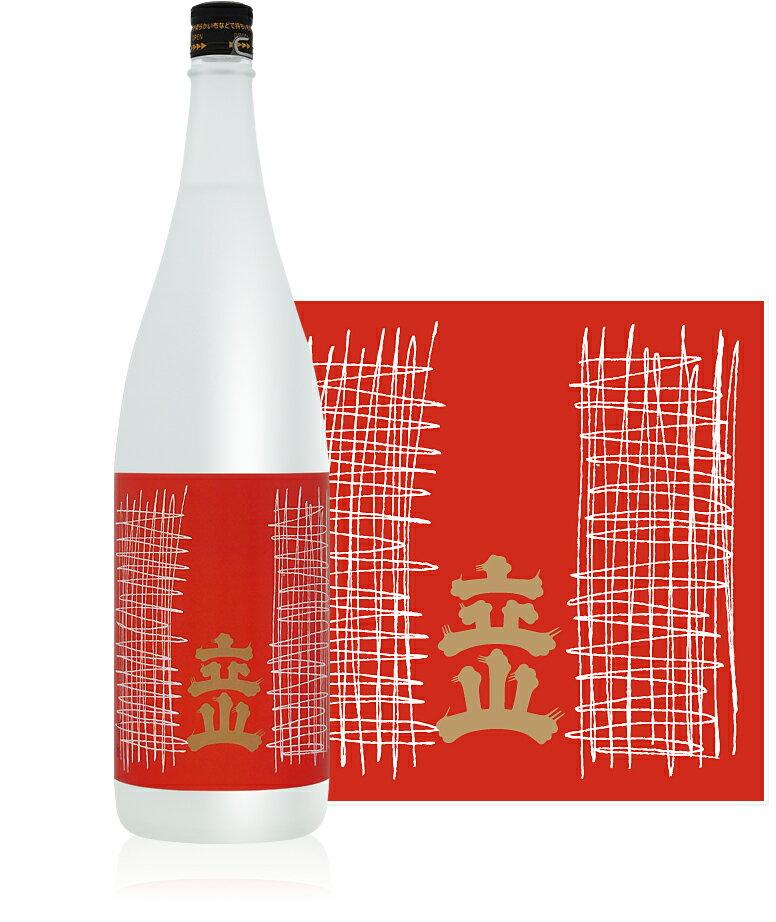 【富山の地酒】立山 吟醸酒 1.8L瓶(1800ml) 1本【ご注文は1ケース(6本)まで同梱可能です】