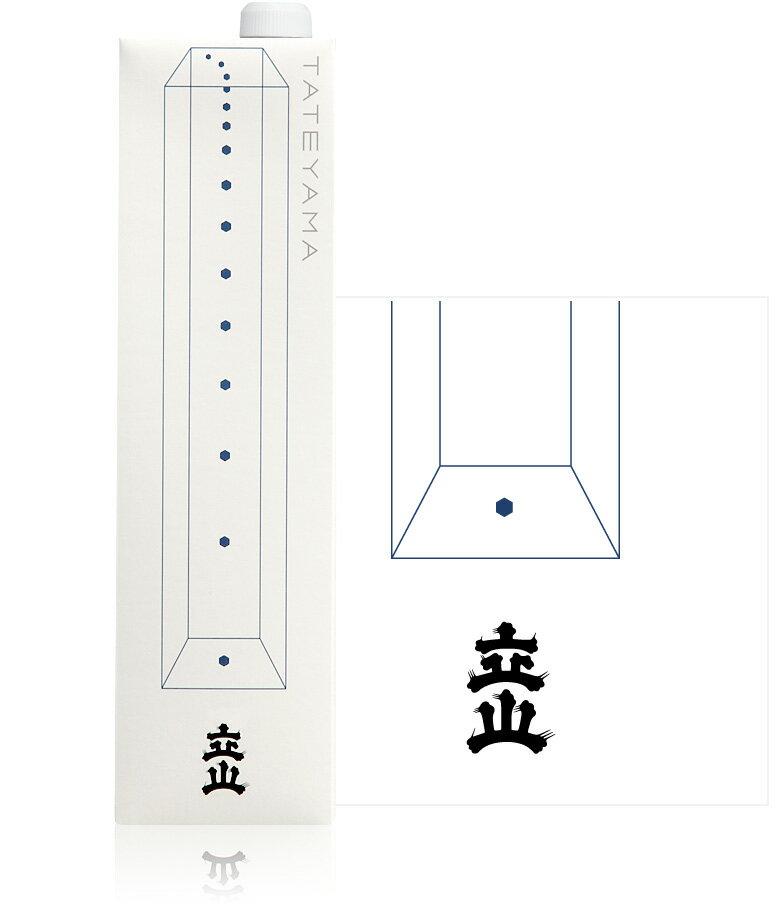 【富山の地酒】立山 特別本醸造 1200ml(1.2L)紙パック)1本【ご注文は2ケース(12本)まで同梱可能です】