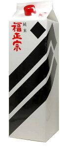 日本酒 石川 福光屋 福正宗 黒ラベル 特別純米酒 1800ml 1.8L 1本【ご注文は2ケース(12本)まで1個口配送可能です】
