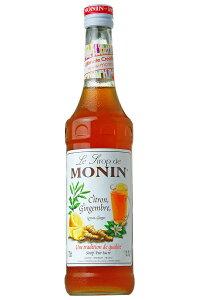 【ケース販売】【送料無料】MONIN モナン レモンジンジャー・シロップ 700ml×6本【北海道・東北・四国・九州・沖縄は別途送料がかかります】ノンアルコール シロップ