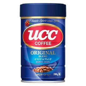 UCC オリジナルブレンド 缶 180g 1個【中細挽き 粉】【ご注文は12個まで同梱可能です】
