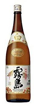 【送料無料】【ケース販売】霧島酒造 白霧島 25度 瓶 1.8L×6本【北海道・沖縄県・東北・四国・九州地方は必ず送料が掛かります。】