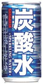 【送料無料】サンガリア 炭酸水 185ml×90本/3ケース