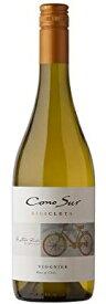 コノスル ヴィオニエ ビシクレタ レゼルバチリワイン 750ml 1本【ご注文は1ケース(12本)まで同梱可能です】