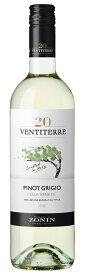 ゾーニン ヴェンティテッレ ピノ・グリージョ 白 750ml 1本[白ワイン/辛口/イタリア]【ご注文は12本まで1個口配送可能】