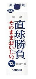 【10/25限定全品P2倍】甲類焼酎 合同酒精 オエノン 直球勝負 12% 1800ml 1.8L 1本【ご注文は12本まで同梱可能】
