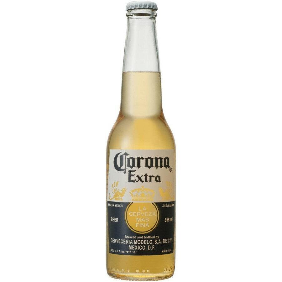 【送料無料】【楽天最安値に挑戦】コロナ エキストラ 瓶 355ml×24本【北海道・沖縄県は対象外となります。】【コロナビール】