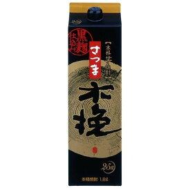 雲海酒造 芋焼酎 さつま木挽 黒麹 25度 パック 1800ml 1.8L 1本【ご注文は2ケース(12本)まで同梱可能】
