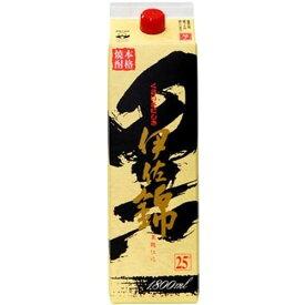 大口酒造 芋焼酎 黒伊佐錦 25度 パック 1800ml 1.8L 1本【ご注文は12本まで同梱可能】