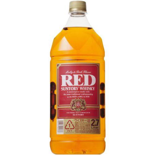 サントリーウイスキー レッド 1本 2700ml(2.7L)<ペットボトル>【ご注文は1ケース(6本)まで同梱可能です】