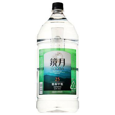 【送料無料】サントリー 鏡月 25度 4L(4000ml) 4本【北海道・沖縄県は対象外となります。】