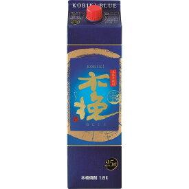 【月間強化価格】【送料無料】雲海 木挽 BLUE ブルー 25度 パック 1800ml×6本【北海道・沖縄県・東北・四国・九州地方は必ず送料が掛かります。】