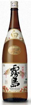 霧島酒造 白霧島 芋 25度 1.8L 1本【ご注文は1ケース(6本)で一個口配送となります】