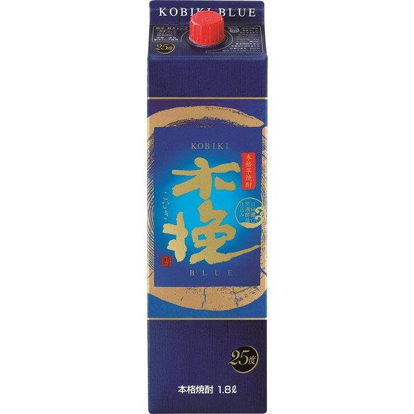 【送料無料】雲海 木挽 BLUE ブルー 25度 1800ml(1.8L)<紙パック>6本【北海道・沖縄県は対象外となります。】