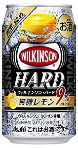 最大400円OFFクーポン配布中 アサヒ ウィルキンソン ハード 無糖レモン 350ml×24本 【ご注文は3ケースまで1個口配送可能です】