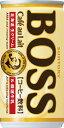 【3ケースまで1個口配送に変更】サントリー BOSSボス カフェオレ 185ml×30本(1ケース)【ご注文は3ケースまで同梱可能です】