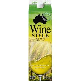 合同酒精 ワイン ワインスタイル 白 1800ml 1.8L 1本【ご注文は2ケース(12本)まで同梱可能】