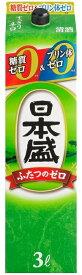 【送料無料】日本盛 糖質ゼロプリン体ゼロ 3000ml 3L×4本【北海道・沖縄県・東北・四国・九州地方は必ず送料が掛かります】