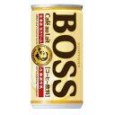 【あす楽】サントリー BOSSボス カフェオレ 185ml×30本(1ケース)【ご注文は3ケースまで同梱可能です】