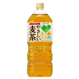 【☆送料無料】サントリー GREEN DA・KA・RA (グリーンダカラ)やさしい麦茶 2L×12本(2ケース)
