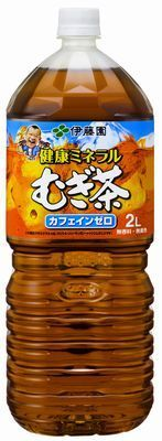 【送料無料】伊藤園 健康 ミネラルむぎ茶 2L×12本(2ケース)【北海道・沖縄県は対象外となります】
