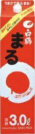 3/4日20時〜3/5まで全品P3倍 【あす楽】 送料無料 白鶴 サケパック まる 3000ml 3L×8本 2ケース【北海道・沖縄県・東北・四国・九州地方は必ず送料が掛かります】