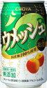 チョーヤ ウメッシュ プレーンソーダ 350ml×24本 【ご注文は3ケースまで同梱可能です】
