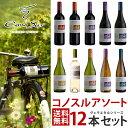 【あす楽】【大人気!チリワイン】【送料無料】よりどり選べる コノスル ヴァラエタル シリーズ 12本 ワインセット【…