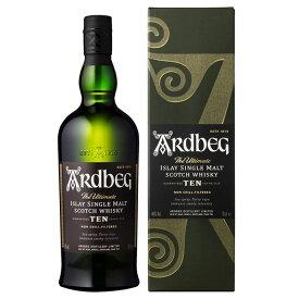 アードベッグ 10年 46度 700ml [正規品]【イギリス スコットランド シングルモルト スコッチ ウイスキー アイラ モルト】