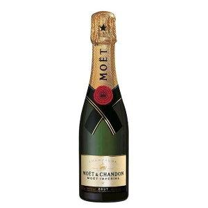 モエ エ シャンドン モエ アンペリアル 375ml [箱なし][並行輸入品]【シャンパン フランス ハーフ ミニ 白 辛口 ワイン ギフト】