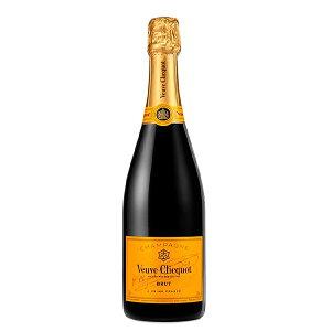 ヴーヴ クリコ イエローラベル ブリュット 750ml [箱なし]【フランス シャンパン シャンパーニュ 白 辛口 ワイン ギフト フルボトル】