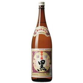 【芋焼酎】白金酒造 白金乃露(白金の露) 黒 25度 1800ml(1.8L)瓶