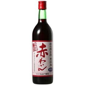 【赤ワイン】シャトー勝沼 酸化防止剤無添加 赤わいん 辛口 720ml瓶 1ケース(12本入り)