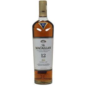 ザ・マッカラン 12年 ダブルカスク シングルモルト ウイスキー 700ml