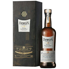 デュワーズ 18年 750ml 40度 ブレンデッド スコッチ ウイスキー whiskey 洋酒 御祝 御礼 家飲み 宅飲み ギフト プレゼント 記念日 誕生日 御中元