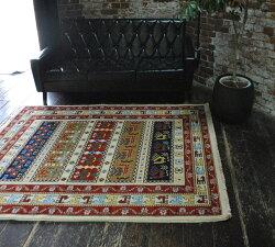 イラン製ウィルトン織高級絨毯カーペットラグ『ANTIQUE/アンティーク』約100×140cm厚手キリムアンティークカーペット絨毯ラグ[中型商品170]ラグマット【】【smtb-k】
