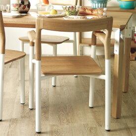 チェア 椅子 スタイリッシュ ナチュラル デザイナーズ パイプ椅子 キッチン リビングバルコニー デッキ ウッド フロースモールテーブル